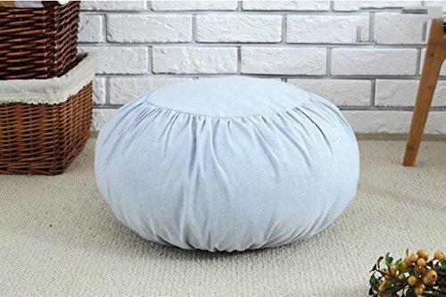 Coussins de canapé amovibles en lin (Couleur : 4)