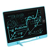 LCD Writing Tablet Drawing Pad Gift Toys for 2 3 4 5 6-16 Year Old Boys, Girls, Toddler, Kids, Adults, Deaf-Mute, Doodle & Scribbler Dry Erase Drawing Board, Highlighted LCD457-8.5 in Blue