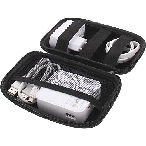 foto-kontor Tasche für TP-LINK TL-MR3020 Portable 3G/4G Wireless N Router Schutz Hülle Mobiler Router Case Aufbewahrung