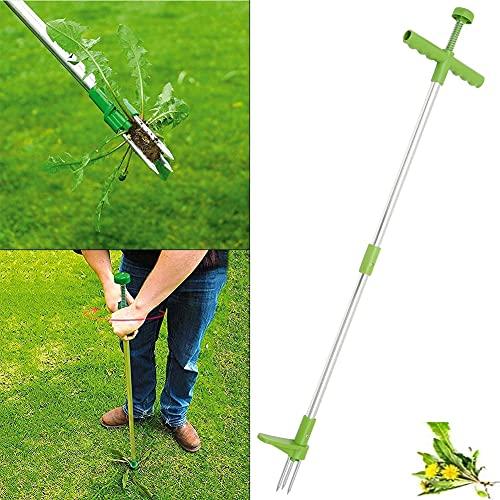 Extractor de malezas de pie - herbicida Manual,herbicida de Acero Inoxidable con...