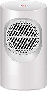 Calefactor Ceramico Bajo Consumo,Calefactor CeráMico BañO,Calentador de Ventilador Ptc de 1 Modos Con ProteccióN Contra Sobrecalentamiento y Volcado Para el Hogar y la Oficina (400 W),White-A