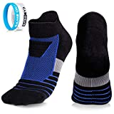 CybGene 2 Paires Chaussette pour Hommes Chaussettes Running, Anti-Ampoules, Absorbant...