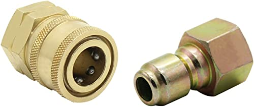 2021 Twinkle Star 3/8 new arrival Inch Quick Connect Fitting Pressure Washer Adapter lowest Set, TWIS293 outlet online sale