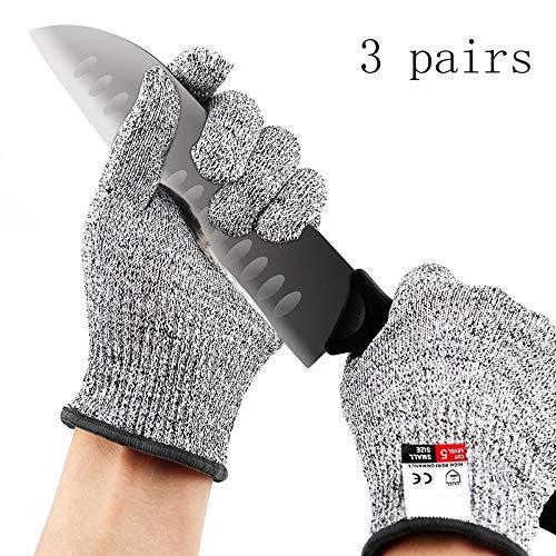 YSYDE snijwerende handschoenen, veiligheidshandschoenen, voedselkwaliteit niveau 5 bescherming, voor Oester-shucking, visvezelverwerking, Mandoline snijden
