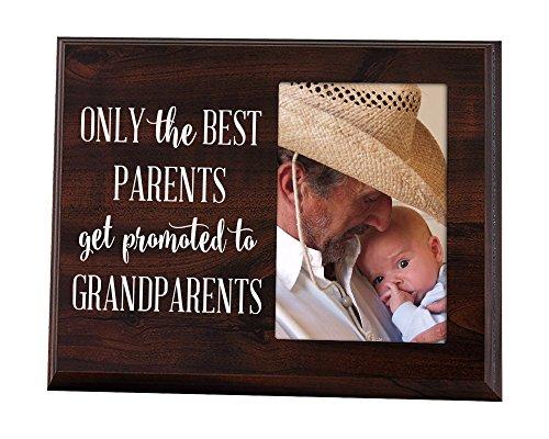 Nur Die Besten Eltern werden gefördert zu Großeltern Geschenk für Großeltern Ultraschall Bilderrahmen Baby Ankündigung Geschenk