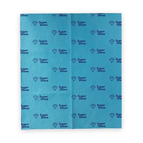 SuperShine hygiënische schoonmaakdoek - large - 40 x 35 cm - wasbaar - supersterk