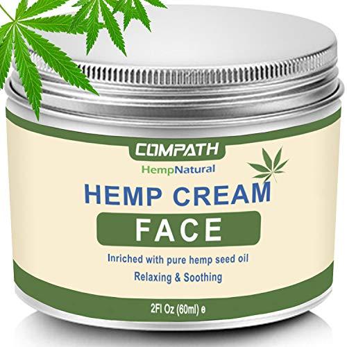 Hemp Cream | Face Cream | Anti-Aging | Anti-Wrinkle & Fine Lines Hyaluronic Acid...