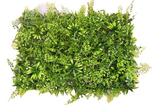 ウォールグリーン 壁掛け フェイクグリーン40×60�p 大きいマット 装飾葉 人工 観葉 植物 マット 造花 ミックス リーフ 緑 店舗装飾 芝生 インテリア ユーカリベリーマット 壁面 緑化 観葉植物 目隠し