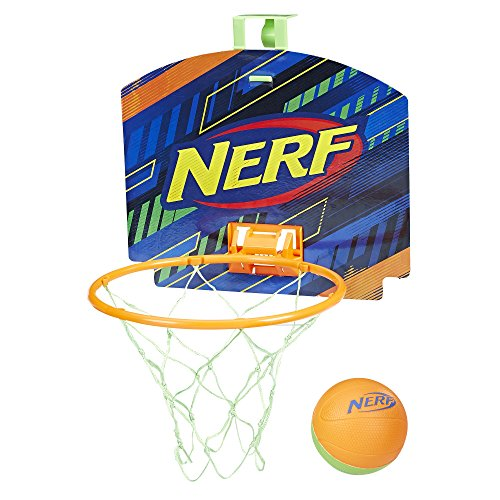 Nerf Sports Nerfoop Orange/Green Ball.