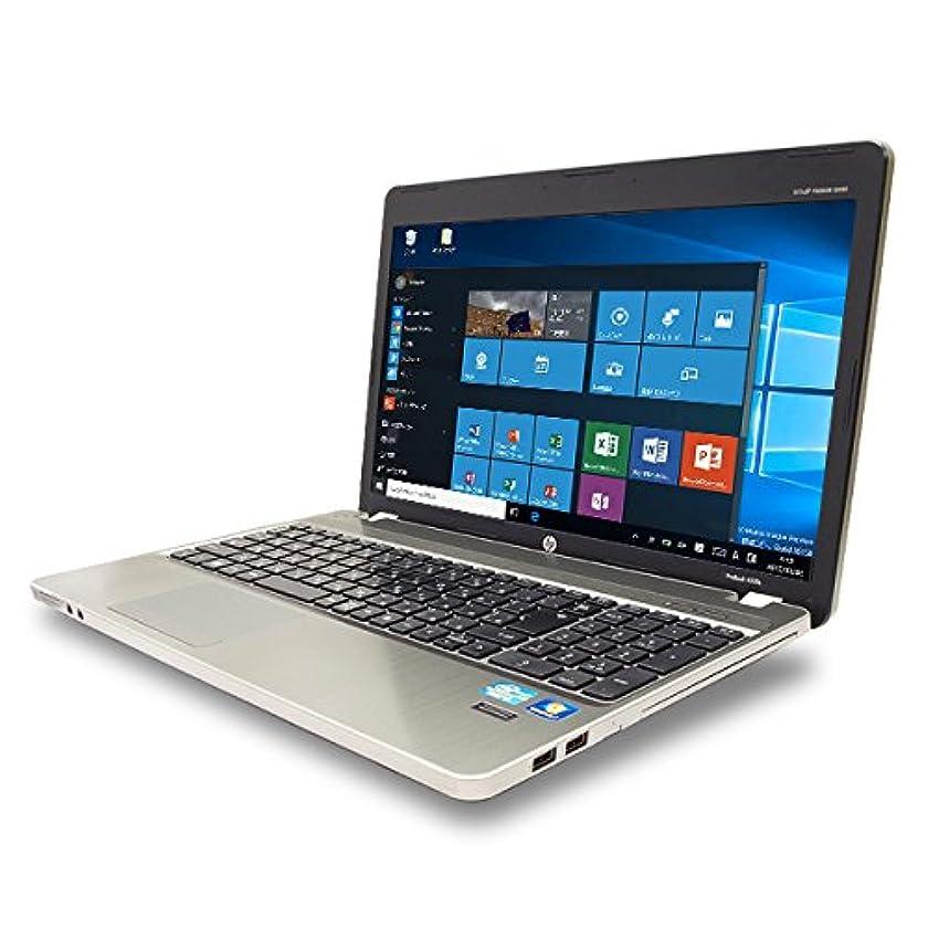 出しますカバレッジ適格ノートパソコン 中古 HP ProBook 4530s Core i3 4GBメモリ 15.6インチワイド DVDマルチドライブ Windows10 MicrosoftOffice2010