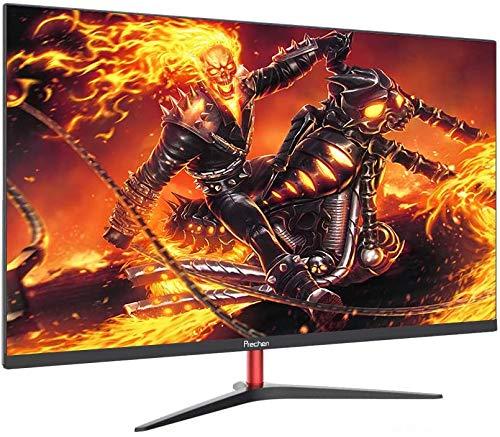PC Monitor, Prechen 23.8 Zoll 2K Gaming Monitor 2560×1440, 60 Hz, IPS Panel Monitor mit HDMI- und VGA-Schnittstelle, für PS3 / PS4 / Xbox, Schwarz