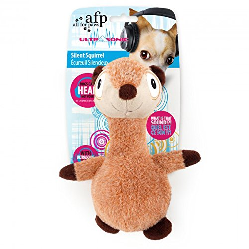 AFP AFPH03260 Hundespielzeug Ultrasonic Silent Squirrel