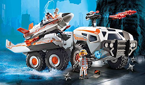 PLAYMOBIL 9255 – Spy Team Battle Truck - 3