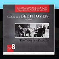 Beethoven: String Quartets Vol. 8 by The Taneyev Quartet