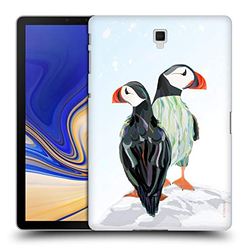 Official Turnowsky Penguins Animals 2 Hard Back Case Compatible for Galaxy Tab S4 10.5 (2018)