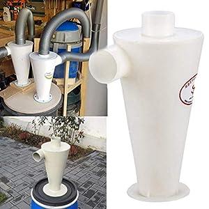 Uni-wert Colector de Polvo Cyclone/Extractor de Polvo, Separador centrífugo, Polvo de Alto Rendimiento y colector de Polvo (Style2)