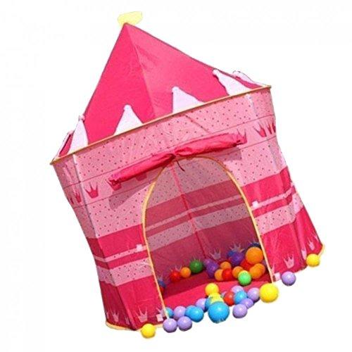 Intérieur Et D'extérieur Enfants Playhouse Fille Rose Pop-up Château Tente Princesse
