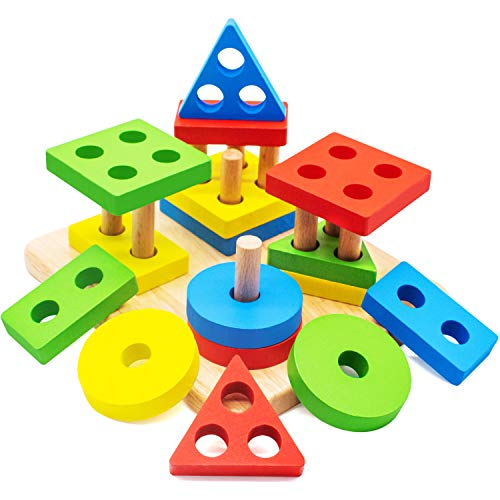 A Stacking Puzzle is great price for a toddlers Easter basket toy