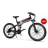 GUNAI Vélo de Montagne électrique de 500W 26 Pouces, vélo de Ville Se...