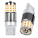AGLINT T20 LED Bombillas CANBUS Error Señal Sin Hiper Flash Extremadamente Brillante 7440 W21W 42SMD Auto Luz de Señal de Giro Ámbar 2PCS