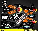 Kit Déco Moto/MX Decal Kit for KTM Sx SxF - GoPro Black Edition