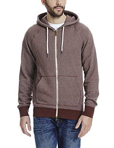 Bench Constitute - Sudadera para hombre, color marrón (brown br130), talla Small