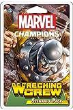 Fantasy Flight Games Marvel Champions: The Wrecking Crew, expansión de Escenario, construcción de baraja Alemana, FFGD2902, Multicolor, Tercer Escenario