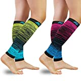 Best Calf Compression Sleeves - Compression Calf Sleeves (20-30mmHg) for Men & Women Review