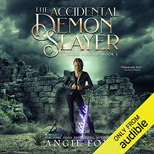 The Accidental Demon Slayer Audiobook By Angie Fox cover art