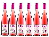 6er Vorteilspaket Pink Weingut Metzger | Rosé-Wein aus der Pfalz | 6 x 0,75 l