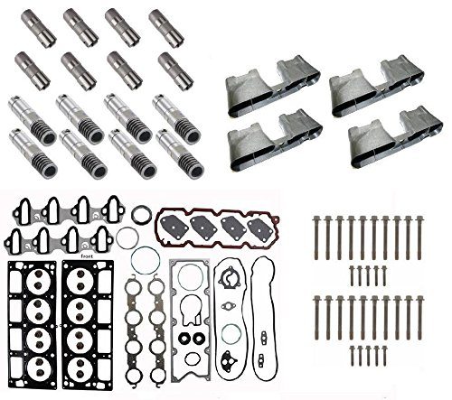 GM 5.3 AFM Lifter Replacement Kit. Quality Gaskets, Head Bolts, Guides, Lifters