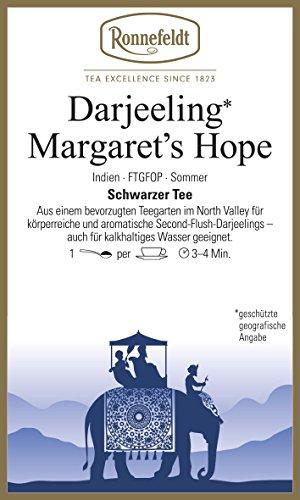 Ronnefeldt - Darjeeling** Margaret`s Hope - Schwarzer Tee aus Darjeeling - 100g