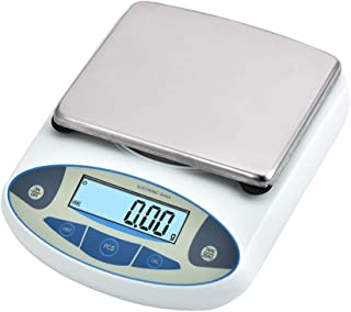 SKYTOU High Precision Lab Scale Digital Analytical Electronic Balance Laboratory Lab Precision Scale Jewelry Scales Kitchen Precision Weighing Electronic Scales 0.01g(5000g/0.01)