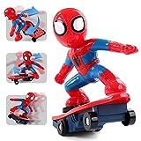 MODYL Spielzeug Auto, Spiderman Roller 2.4G Stunt Fernbedienung Auto Kinderspielzeug Spiderman Roller