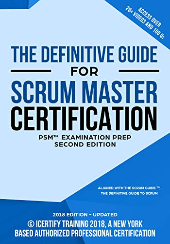 The Scrum Master Training Manual: The Definitive Guide for Professional Scrum Master - PSM® Certification (English Edition)