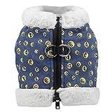 Bluelucon Haustier Kostüm Hund Kostüm Kleidung Haustier Outfit Anzug Cowboy Rider Style, passt...