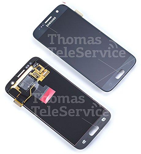 Samsung GH97-18523A - Módulo de pantalla para Samsung Galaxy S7 (incluye digitalizador SM-G930F, color negro