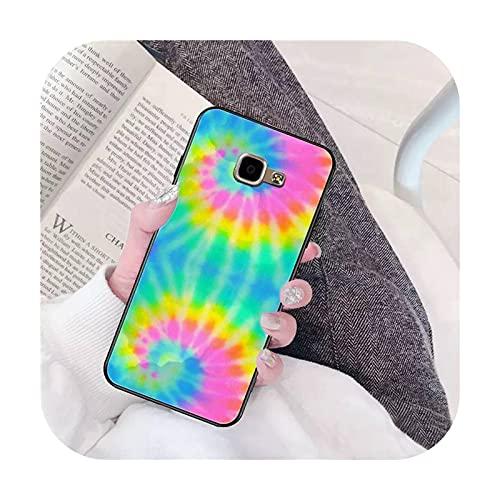 Ti'an Tie Dye Art - Fundas para Samsung A6 A8 Plus A7 A9 A20 A20S A30 A30S A40 A50 A70-a12 - A7 2018