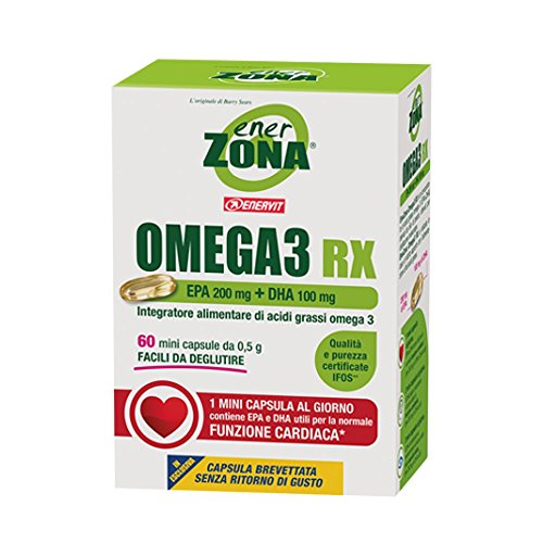 Enervit Enerzona Omega 3 Rx - Pacco da 60 pezzi