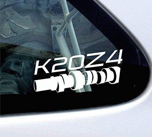 k20z4Cam Style Sticker–für Honda Civic Type-R (FN2) 2007–2010