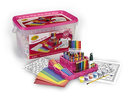 Crayola Fabulous Art Kit, Amazon...