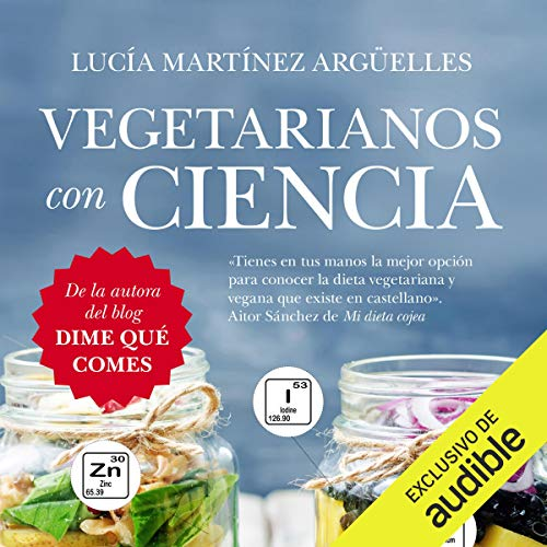 Vegetarianos con ciencia audiobook cover art