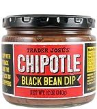 Trader Joe's Chipotle Black Bean Dip NET WT. 12 OZ (340g)