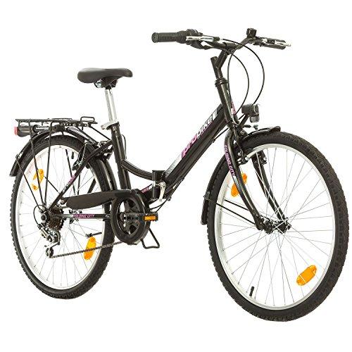Multimarca, Folding City 24 Lady, 24 Pulgadas, 457 mm, Bicicleta de montaña...