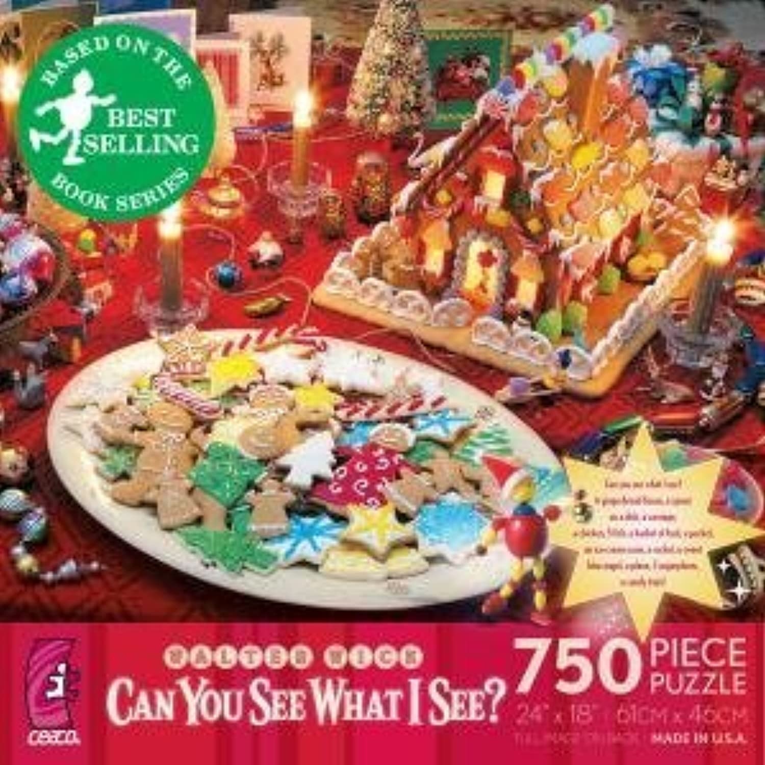 Walter Wick Can You See What I See 750 Piece Puzzle by Ceaco