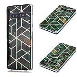 HUAYIJIE SX Coque pour Samsung Galaxy S10+ Plus G975F Coque Phone Case Cover Etui Housse 5