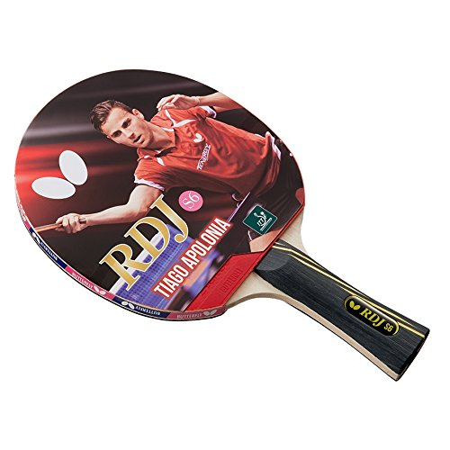 Buy Butterfly RDJ S6 Shakehand Table Tennis Racket | RDJ Series | Offers an Ideal Balance of Speed, ...