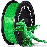 GEEETECH Filamento PLA 1.75mm para impresión 3D, 1kg Spool, Verde