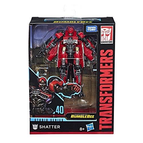 Transformers Studio Series - Coche Robot de Lujo de 11 cm - Juguete Convertible 2 en 1