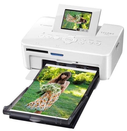 Canon SELPHY CP810 kompakter Fotodrucker (6,8cm (2,7 Zoll) Display, 300x300dpi)